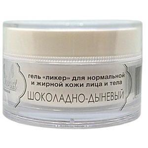 Гель «Ликер» ШОКОЛАДНО-ДЫНЕВЫЙ для нормальной, жирной кожи лица и тела