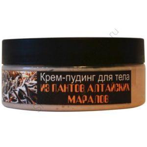 Крем-пудинг для тела из ПАНТОВ АЛТАЙСКИХ МАРАЛОВ